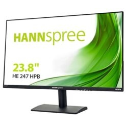 "Hannspree HE247HPB 23.8"" / HDMI / VGA Speakers Black Monitor"