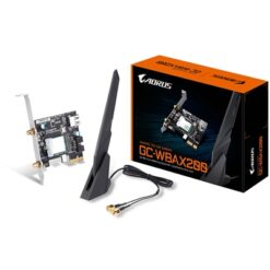 Gigabyte GC-WBAX200 Intel WiFi 6 AX200 2400Mbps Bluetooth 5.0 Wireless PCI-Express Card