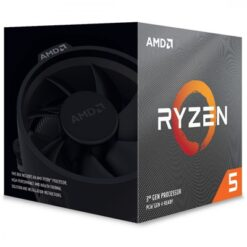 AMD Ryzen 5 3600XT 3.8Ghz 6 Core AM4 Overclockable Processor with Wraith Stealth Cooler