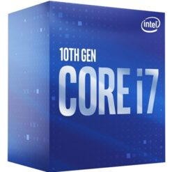 Intel i7 10700 Comet Lake Eight Core 2.9GHz 1200 Socket Processor with Heat Sink Fan