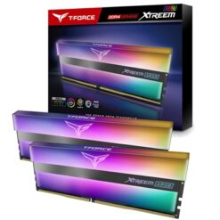 Team T-Force XTREEM ARGB 16GB Black Heatsink with ARGB LEDs (2 x 8GB) DDR4 4000MHz DIMM System Memory