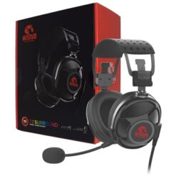Marvo Scorpion PRO Gaming HG9053 7.1 Virtual Surround Sound Red LED Gaming Headset
