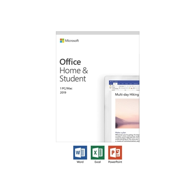 Microsoft Office 2019 Home & Student 32/ 64-Bit English Medialess PKC Software Latest Version